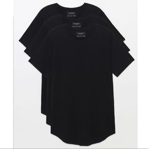 🖤Pacsun Scallop Fit Black t-shirt